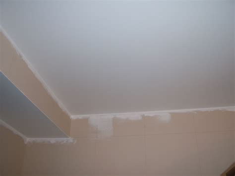 Ceiling Repair by Drywall Patch