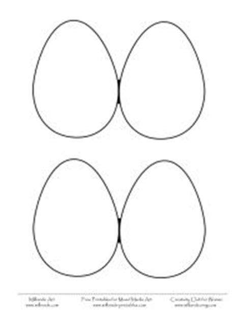 easter egg pattern to print free printable egg template