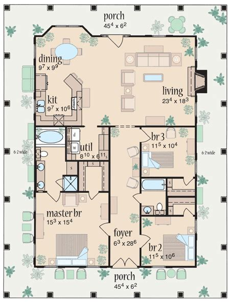 marvelous home plans for narrow lots 9 2 story narrow lot plan 8462jh marvelous wrap around porch porch southern