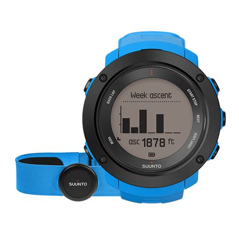 Jam Tangan Mewah Suunto Spartan Trainer Blue Hr Smartwatch Original suunto ambit3 vertical blue hr multisport gps