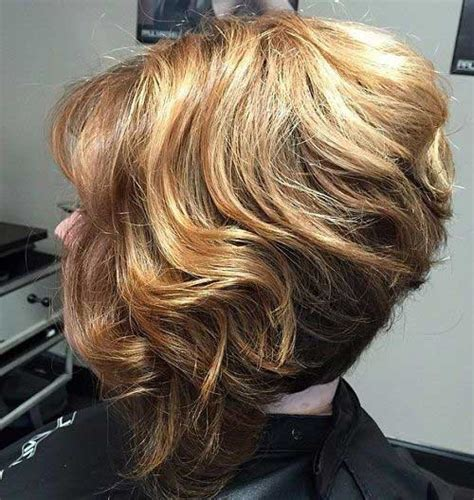 stacked bob haircut pictures curly hair best short stacked bob short hairstyles 2016 2017