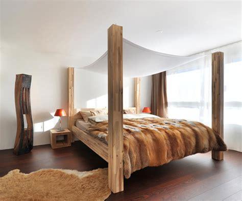 dekoratives bett baldachin 50 design ideen f 252 r himmelbetten die unbedingt zu sehen sind