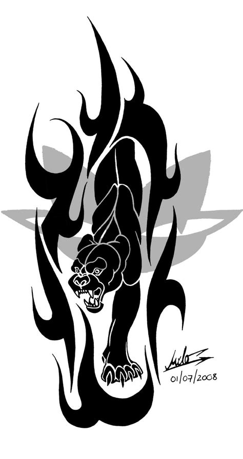 wildcat tattoos design black panther by milo wildcat on deviantart