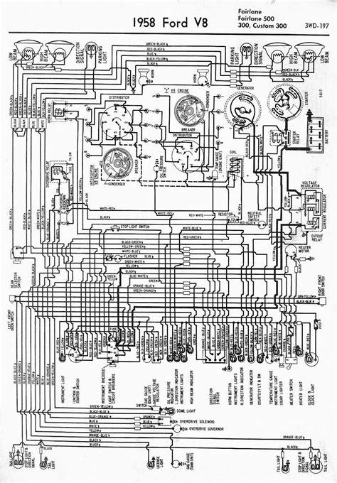 mall diagram wiring diagram for 1958 ford v8 fairlane fairlane 500