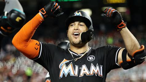 marlins slugger giancarlo stanton hits 54th home run