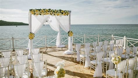 Wedding Ceremony Jamaica by Luxury Jamaica Weddings Weddings Romantique
