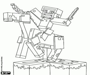 minecraft coloring pages jockey minecraft coloring pages printable games