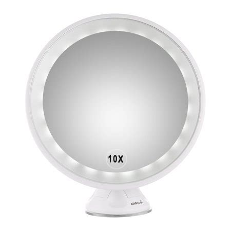 lighted magnifying l walmart easehold 10x magnifying led lighted vanity mirror makeup