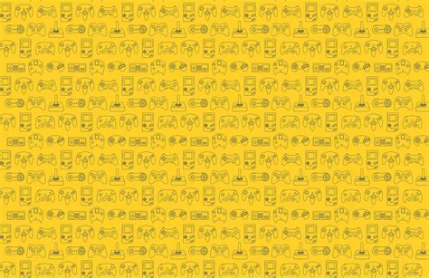yellow wallpaper game yellow retro game wall mural