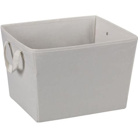 canvas storage containers canvas storage bin medium in shelf bins