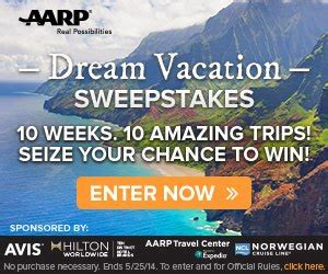 Aarp Travel Sweepstakes - aarp travel sweepstakes extreme coupon professors
