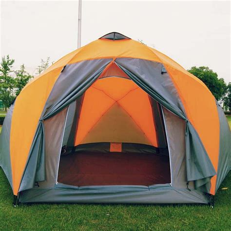 Tenda Outdor Kemping Sale aliexpress buy 8 10 person high quality windproof waterproof outdoors 3000mm hex tent
