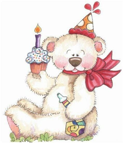 printable birthday cards teddy bear 1000 images about birthday clipart on pinterest