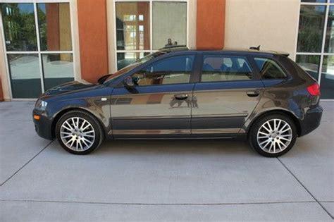2006 audi hatchback purchase used 2006 audi a3 sports hatchback 2 0l turbo