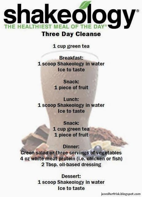 Is The Cleaner Detox Gluten Free by Shakeology Cleanse But I M Using The It Works Shakes