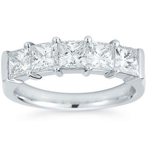 costco five princess cut band 2 00 ctw
