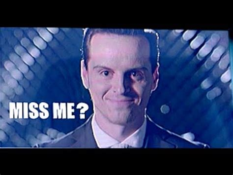Did La Miss Me by Sherlock Series 3 His Last