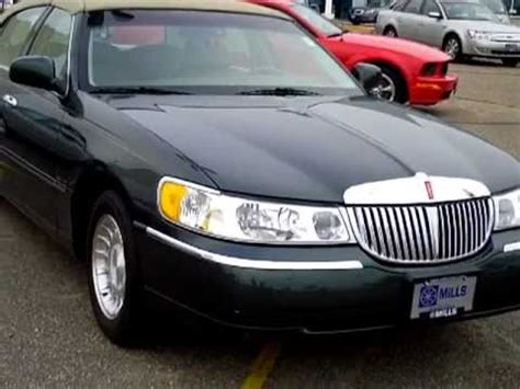 all car manuals free 2000 lincoln town car interior lighting 2000 lincoln town car executive youtube