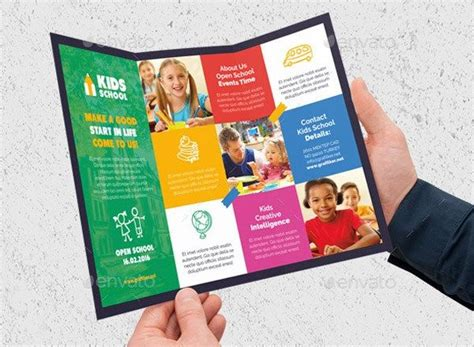 leaflet design ideas for school 30 school brochure template for education insitituion