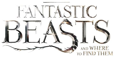 where to find wallpaper fantastic beasts and where to find them logo by