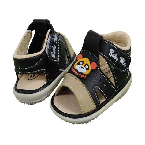 Sepatu Baby Laki Laki jual shoes baby ma sbm 016 sepatu sendal laki laki panda tengah hitam harga