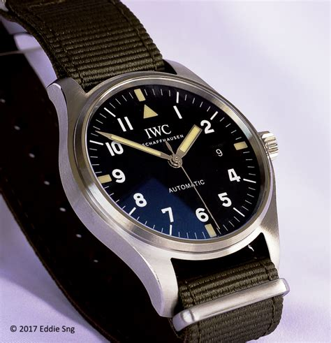 The Collector's View: A brief comparison of the IWC Mark XV and Mark XVIII