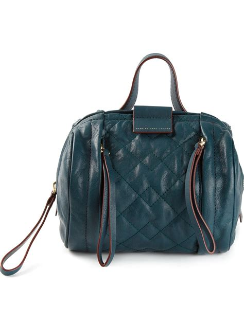 Marc Quilted Stella by Marc By Marc Moto Quilted Shoulder Bag In Green