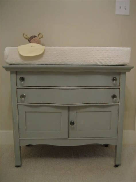 Changing Table From Antique Washstand Baby Pinterest Antique Baby Changing Table