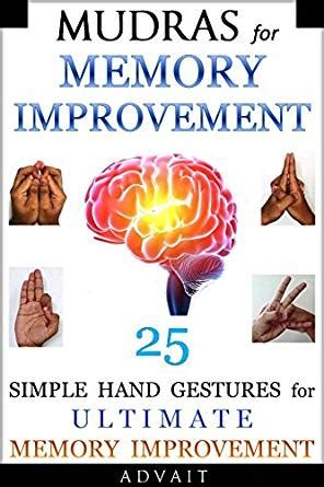 mudras for two books mudras for memory improvement 25 simple