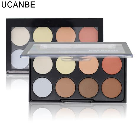 8 Colour Contour No 1 professional 8 colors brighten concealer contour 3 in 1 powder palette 3d contouring makeup