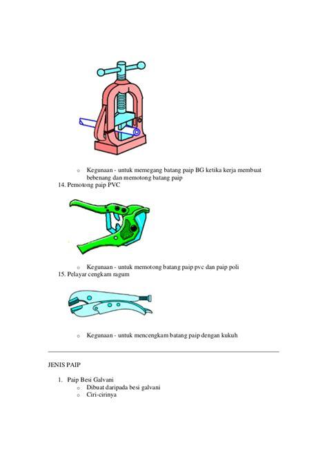 Pemotong Paip Pvc nota paip