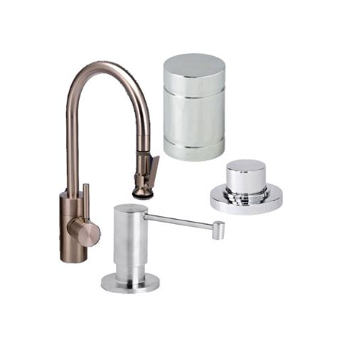 air in kitchen faucet waterstone pull down kitchen faucet with soap dispenser