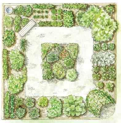kitchen herb garden design step by step your garden grows five year kitchen garden