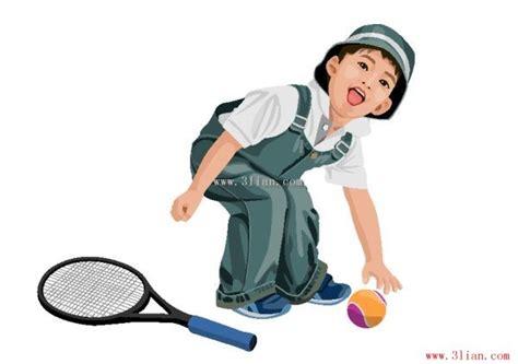 Raket Tenis Untuk Anak tenis anak laki laki orang orang vektor vektor gratis