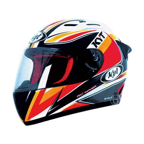 Helm Fullface Kyt Rc7 Seri 13 jual helm kyt rc cek harga di pricearea