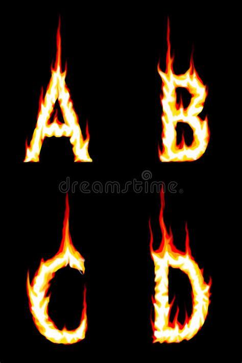 letters a b c d stock illustration illustration