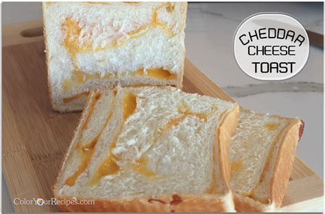 what color is cheddar cheese asian inspired cheddar cheese toast color your recipes