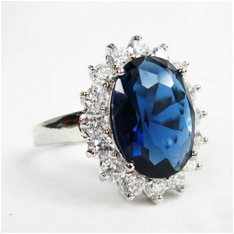princess diana inspired royal oval sapphire engagement