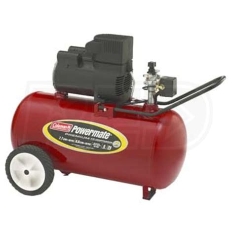 coleman powermate cp0602012 20 gallon direct drive air compressor