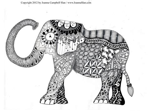 elephant mandala coloring pages for adults free coloring pages of mandala elephants