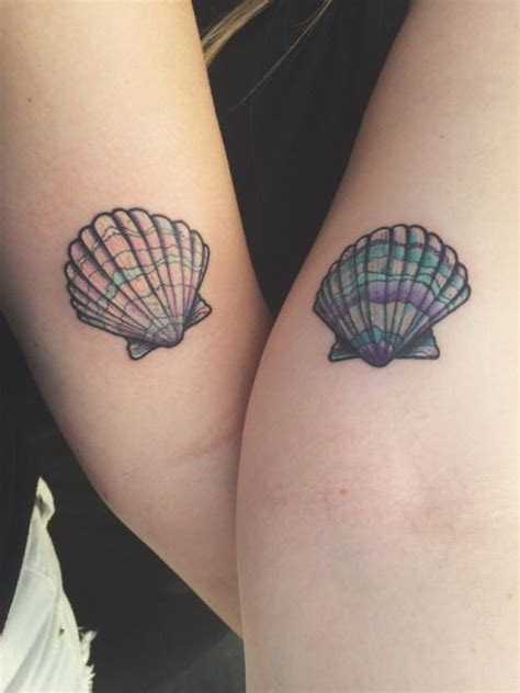 small seashell tattoo small seashell mermaid sea