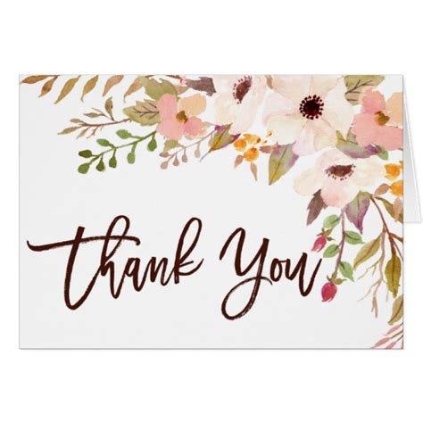 Zazzle Thank You Cards