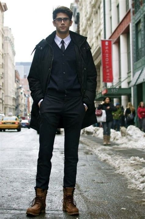 mens fashion tucked into boots fitted tucked into working boots oh lawdy guys