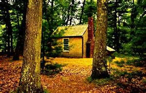 Walden Pond Thoreau Cabin by 301 Moved Permanently