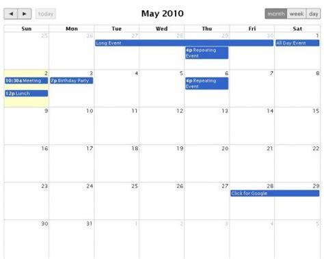 Calendario J Jquery Sized Drag Drop Calendar To Fetch Events