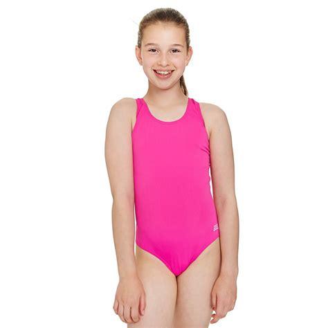 junior girls zoggs junior girls cottesloe sportsback swimsuit