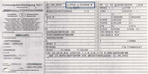 Autoversicherung Rechner Mit Schl Sselnummer by Schl 252 Sselnummer Fahrzeugschein Fahrzeugsuche Nach Schl