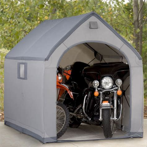 motorcycle shed shed plans kits