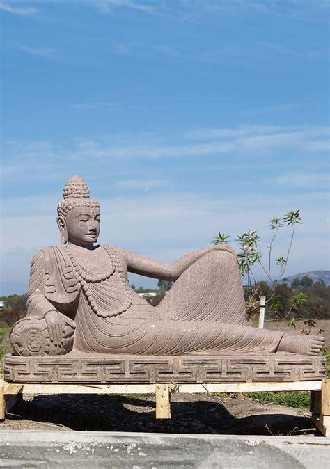 reclining buddha statue reclining buddha garden sculpture 47 quot 85ls142 hindu