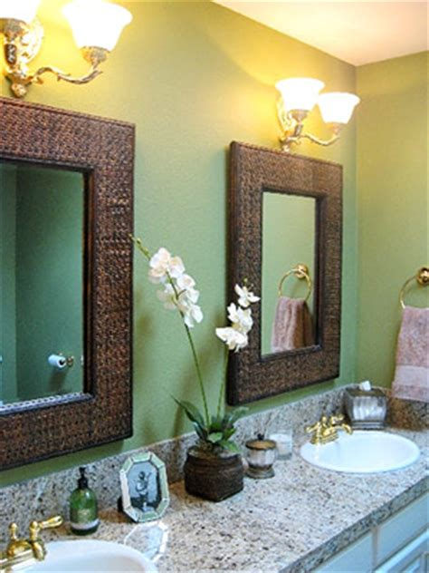 brown and green bathroom green and brown bathroom the house decorating